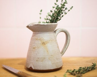 Mini Clay Pitcher