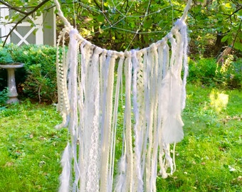 Dreamy White Dreamcatcher