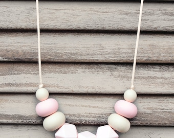 COCONUT ICE - Silicone Necklace
