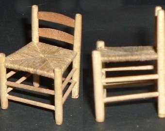 Miniature GUSTAFSON SMALL ROPE Seat Chair