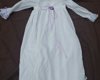 18-20 Inch Baptismal Gown