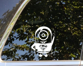 Minions Vinyl Decal Etsy - Minion custom vinyl decals for car