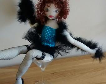 Burlesque collector doll