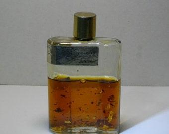 C.1930's  20 Carats Perfume Cologne by Dana w Gold Flecks, 2 oz.-Paris, New York