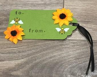 Bumblebee Gift Tag