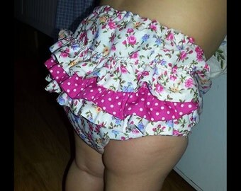Baby nappy covers frilly knickers