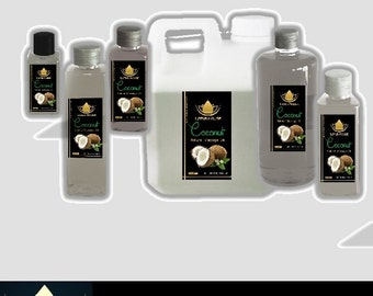 Lotus House Coconut Premium Quality Massage Oil
