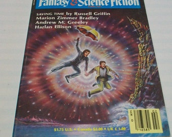 Magazine of Fantasy and Science Fiction F&SF February 1987 Paperback book