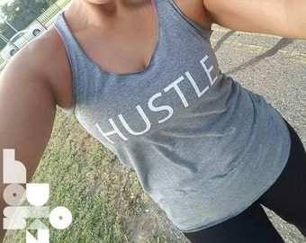 Hustle Racer Back Tank