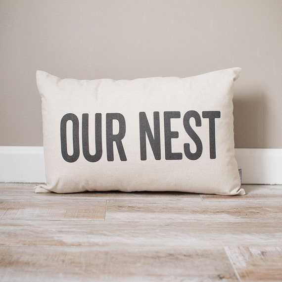 Uo Home Home Decor: Our Nest Pillow Rustic Decor Home Decor Rustic Decor