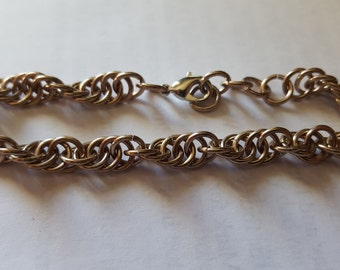 Chainmaille Spiral bracelet