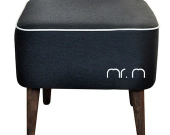 Mr M Pouf by MonkeyMachineDesign, floor pouf, footstool, stool, ottoma, comfortable pouffe