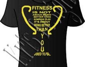 Fitness Trophy SVG PNG JPG