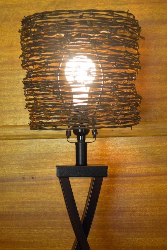 Lamp Shade Barb Wire Lamp Shade Western Lamp Shade