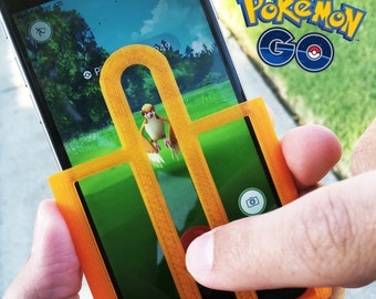 Pokemon Go Aim Assist Case for iPhone & Samsung Phones - Great Stocking Stuffer - Pokemon Game Accessory