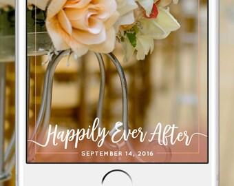 Snapchat Wedding Geofilter: Custom Geofilter, Snapchat Geofilter, Personalized Geofilter, Wedding Snapchat Filter, Custom Wedding, 24 Hour