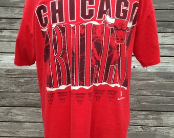 Vintage 90s CHICAGO BULLS T Shirt - XL