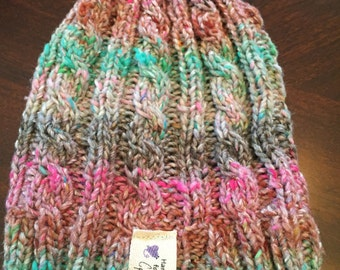 baby cabled Beanie