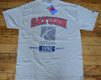 Brand New With Tags, Vintage Saturn T-Shirt