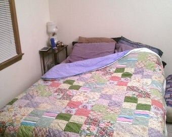 Custom Queen-size Hand-made Quilt