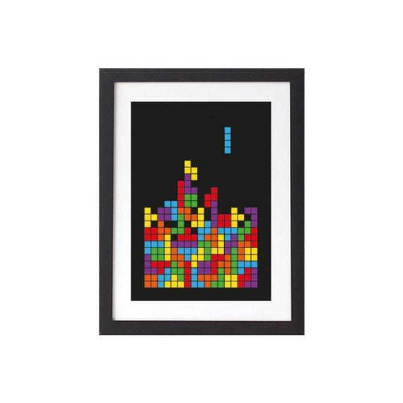 Tetris Art Print - Poster
