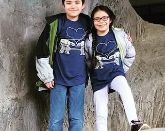 Kid Shirts: AT-AT Love, Star Wars Shirt, Geek Gift Ideas, Star Wars Parody