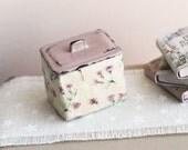 Dolls House Miniature Shabby Kitchen Storage Tin