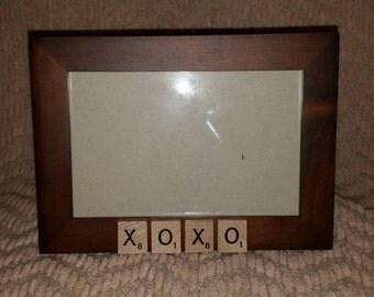 XOXO Picture Frame - 4x6 horizontal