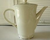 Lenox Maywood Coffee Pot with lid Cosmopolitan Collection.