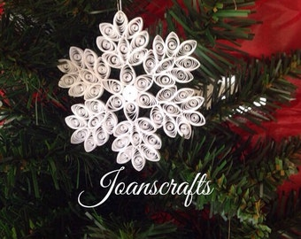Snowflake Ornament Design in Quilling for 2010