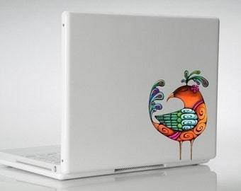 Partridge Laptop Bird Sticker MacBook Vinyl Decal