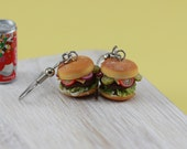 Cheeseburger Earrings
