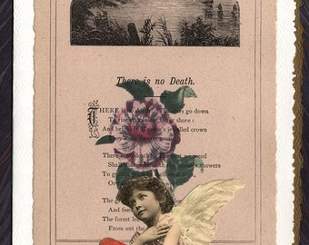 Sympathy Card There is No Death