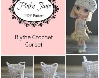 Blythe Crochet Corset PDF Pattern