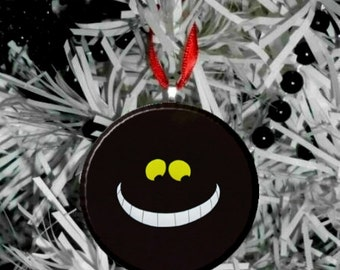 Disney Alice in Wonderland Christmas Tree Pendant Ornament - Chesire Cat Smile