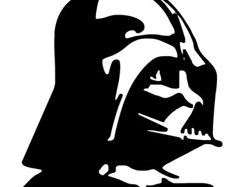 DARTH VADER Star Wars Inspired Vinyl Decal - Free Shipping