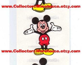 Disney Mickey Mouse Stickers by Mrs.Grossman 90's NIP full body