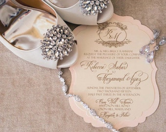 Wedding Invitation - Becky's Victorian - SAMPLE by Staccato