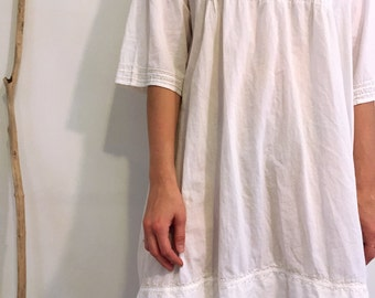 100% organic cotton tunic dress
