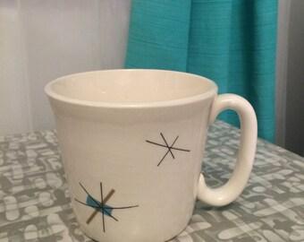 Rare Vintage salem hopscotch 60s NORTHSTAR mid century atomic coffee cup