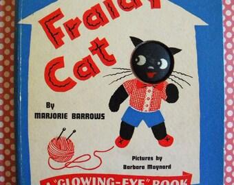 Fraidy Cat A Glowing Eye Book by Marjorie Barrows 1942