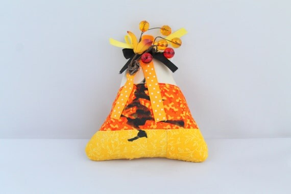 Halloween decorationCandy Corn with Flying Witch Hanging ornament