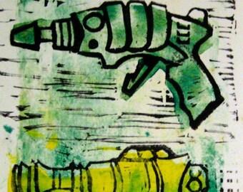 green raygun yellow raygun