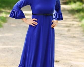 LillyAnnaLadiesApparel BRITT Dress Lala Modest
