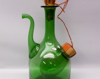 Large 1970s wine decanter and chiller