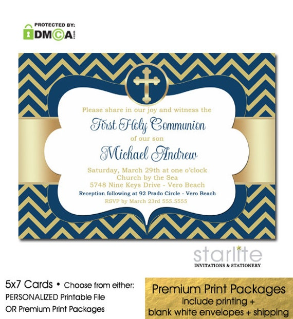 It's just a photo of Decisive Printable First Communion Invites
