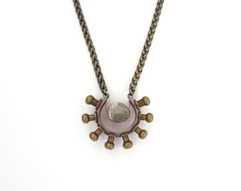 Sunburst Rays Necklace