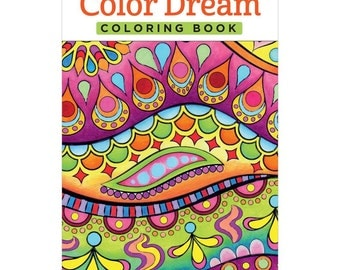 Design Originals Color Dream Portable Coloring Book