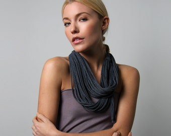 Gifts for Women, Girlfriend Gifts, Infinity Scarf, For Girlfriend, For Her, Gifts For Mom, Womens Gifts, Mom Gifts, Gray Scarf, Womens