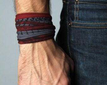 Cuff Bracelet, Cuff, Gift, Burning Man, Anniversary Gifts, Groomsmen Gift, Bohemian Jewelry, Men's, Hipster, Yoga Bracelet, Boho Jewelry